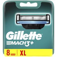 Gillette GILLETTE Mach3+ recharge lames de rasoir