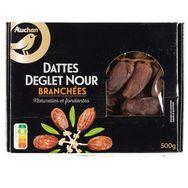 Gourmet Auchan Gourmet Dattes deglet nour branchées 500g