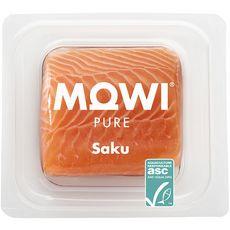 Mowi Saku Découpe de saumon avec peau 140g 1 portion 140g