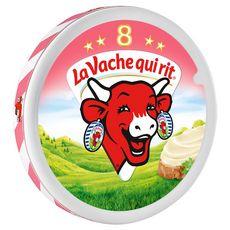 LA VACHE QUI RIT Fromage fondu au jambon en portion 8 portions 140g