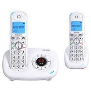 ALCATEL Téléphone sans fil - XL585 Voice Duo - Répondeur - Blanc