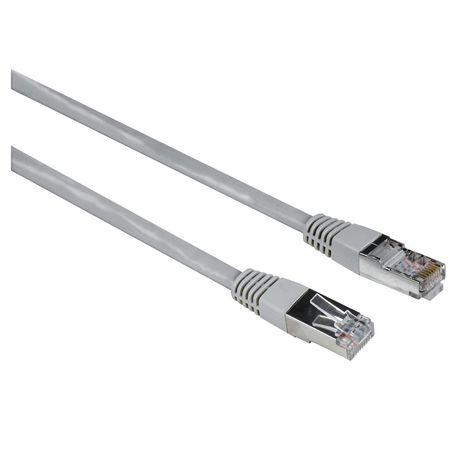HAMA Câble réseau CAT5 STP 10m Gris