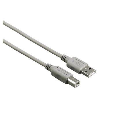 HAMA Câble USB A/B 3M Gris