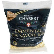 FROMAGERIE CHABERT Emmental râpé de Savoie IGP Filière Responsable 200g
