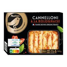 AUCHAN GOURMET Cannelloni à la bolognaise 900g