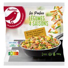 Auchan Poêlée 4 saisons 750g