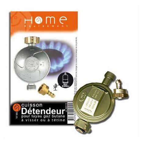 HOME EQUIPEMENT Détendeur gaz butane avec tétine A95111