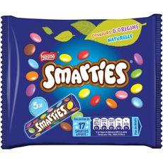 SMARTIES Bonbons chocolatés 5 tubes 190g