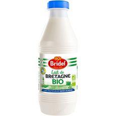 BRIDEL Lait frais bio demi-écrémé 1L