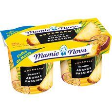 MAMIE NOVA Mamie Nova Yaourt brassé ananas passion 2x150g 2x150g