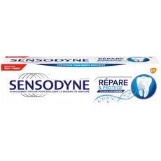 SENSODYNE Dentifrice réparation et protection dents sensibles 75ml