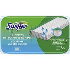 SWIFFER Lingettes humide fraîcheur citron 12 lingettes
