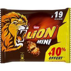 NESTLE Lion mini barre chocolatée  350g +10% offert