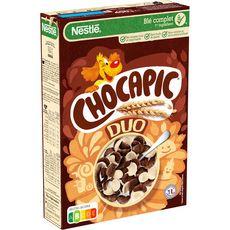 CHOCAPIC Duo céréales aux chocolats 400g