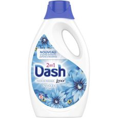 DASH Lessive liquide envolée d'air fraîcheur Lenor 35 lavages 1,925l