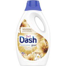 DASH Lessive liquide souffle précieux fraîcheur Lenor 33 lavages 1,815l