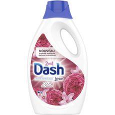 DASH Lessive liquide coup de foudre fraîcheur Lenor 35 lavages 1,925l