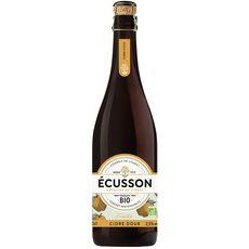 ECUSSON Cidre doux fruité IGP bio 2,5% 75cl