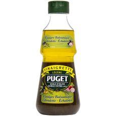 PUGET Vinaigrette légère huile d'olive vinaigre balsamique ciboulette échalotes 33cl