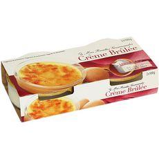 DISCOUNT Crème brulée 2x100g