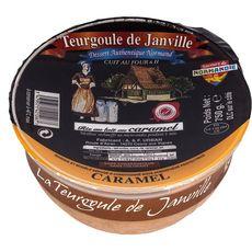 LA TEURGOULE DE JANVILLE Riz au lait au caramel 750g