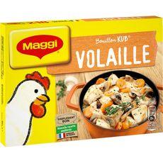 Maggi MAGGI Bouillon Kub de volaille fabriqué en France