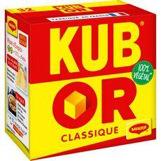 MAGGI Kub or bouillon classique 100% végétal 32 cubes 128g