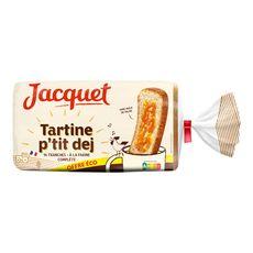JACQUET Pain de mie tartine p'tit déj complet 14 tranches 410g