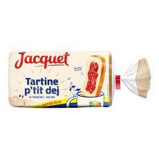 JACQUET Pain de mie tartine p'tit déj nature 14 tranches 410g