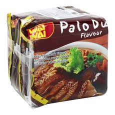 WAI WAI Nouilles asiatiques instantanées saveur canard 3x60g