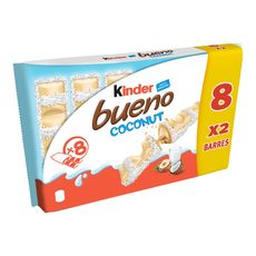 Kinder Bueno white coco x8 -312g