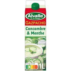 ALVALLE Alvalle Soupe froide concombre et menthe 1l 1l