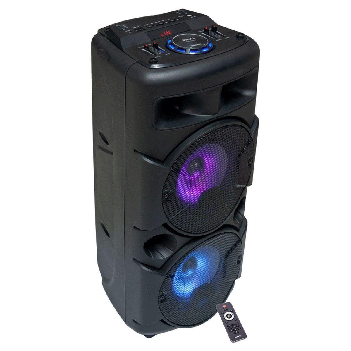 Enceinte active Bluetooth - Noir - Powersound290