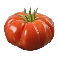 Tomate ancienne côtelée rouge 150g minimum 1 pièce