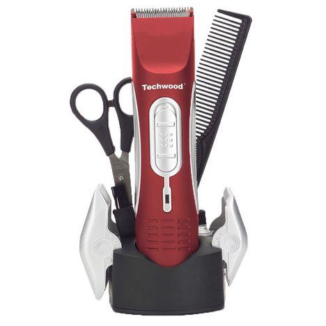 TECHWOOD Tondeuse cheveux TTS-05 - Rouge