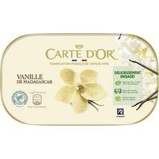 Maison du Café CARTE D'OR Crème glacée à la vanille de Madagascar