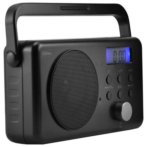 QILIVE Radio - Q.1716 - Noir