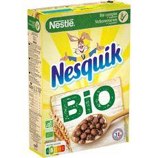 NESQUIK Céréales bio au chocolat 375g
