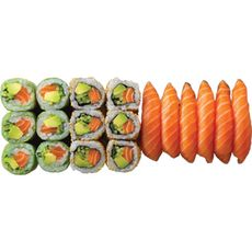 SUSHI SHOP Just salmon 18 pièces 18 pièces 379g