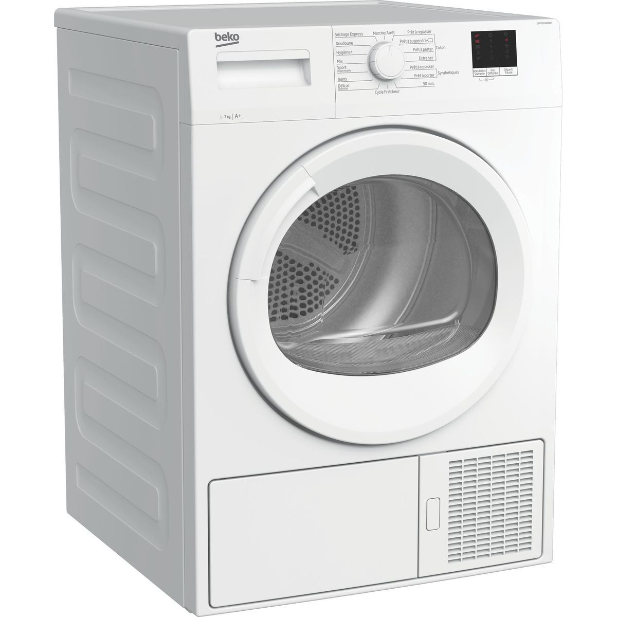 Sèche linge hublot DM7311GA0WW, 7 kg, Pompe à chaleur