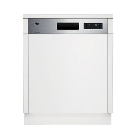 BEKO Lave vaisselle DSN26420X, 14 couverts, 60 cm, 46 dB, 6 programmes