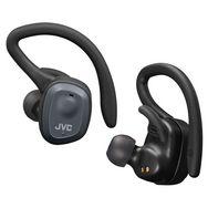 JVC Écouteurs sport sans fil Bluetooth avec étui de recharge - Noir - HA-ET45T-B