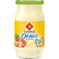 LESIEUR Mayonnaise fine et douce sans moutarde aux œufs de plein air en bocal 475g
