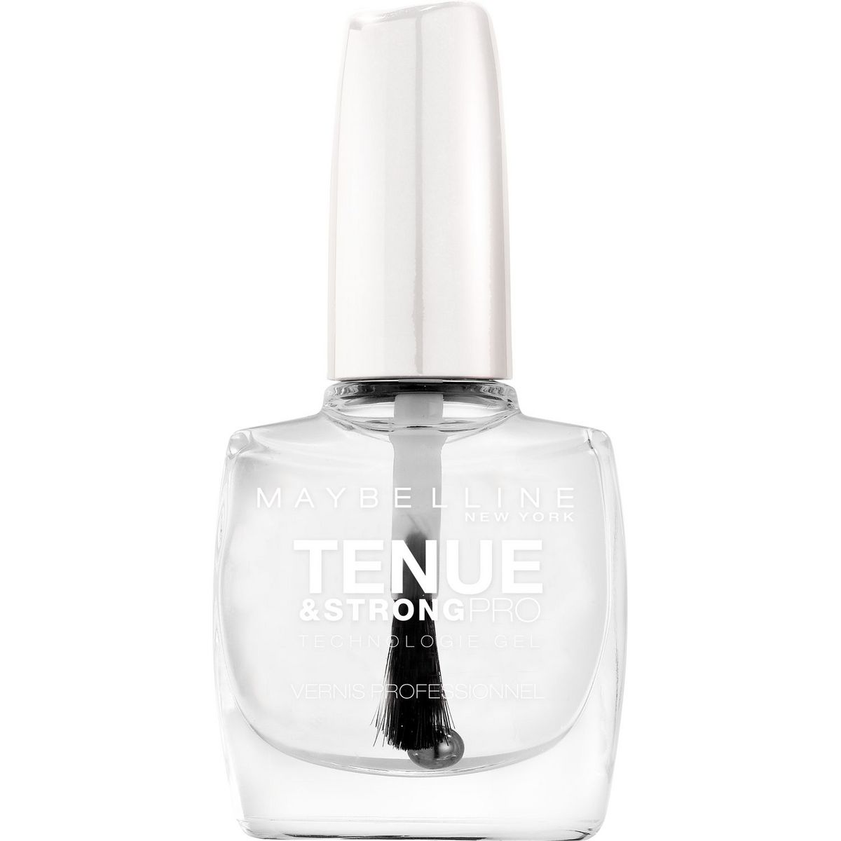 Gemey Maybelline Tenue Strong Pro vernis à ongles base transparante 10ml
