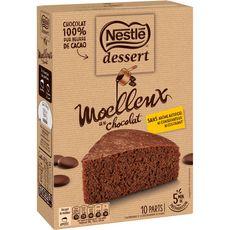 Nestlé NESTLE DESSERT Préparation pour moelleux au chocolat