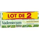 Vademecum Vademecum Dentifrice bio protection complète menthe thé vert 2x75ml