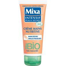 Mixa MIXA BIO Crème mains nutritive huile d'abricot mains sèches & ongles fragiles