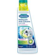 DR BECKMANN Nettoyant lave-linge anti-calcaire au vinaigre blanc parfum citron 1 utilisation 250ml