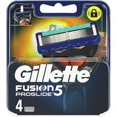 GILLETTE Fusion5 Proglide recharge lames de rasoir 4 recharges