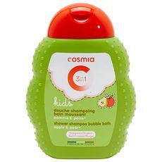 COSMIA Cosmia Gel douche enfants corps bain cheveux pomme poire 250ml 250ml